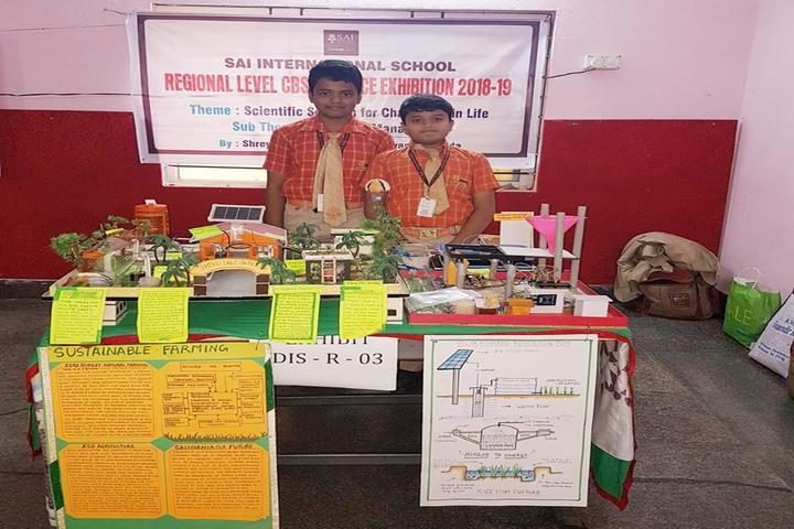 Sai International School-Science Exhibition