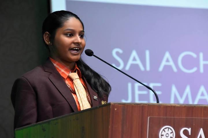 Sai International School-Student Speech