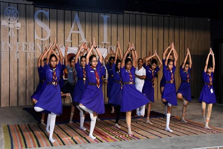 Sai International School-Yoga