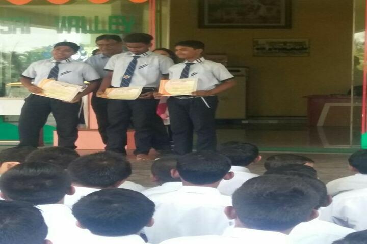 Sai Valley World School-Certification