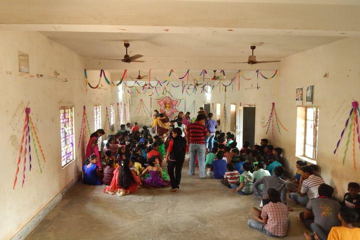 Santanu English Medium School-Festive Celebrations