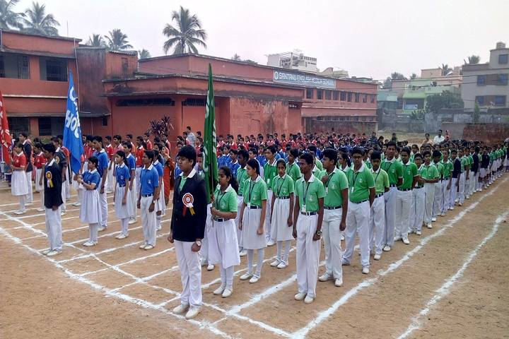 Santanu English Medium School-Sports Meet