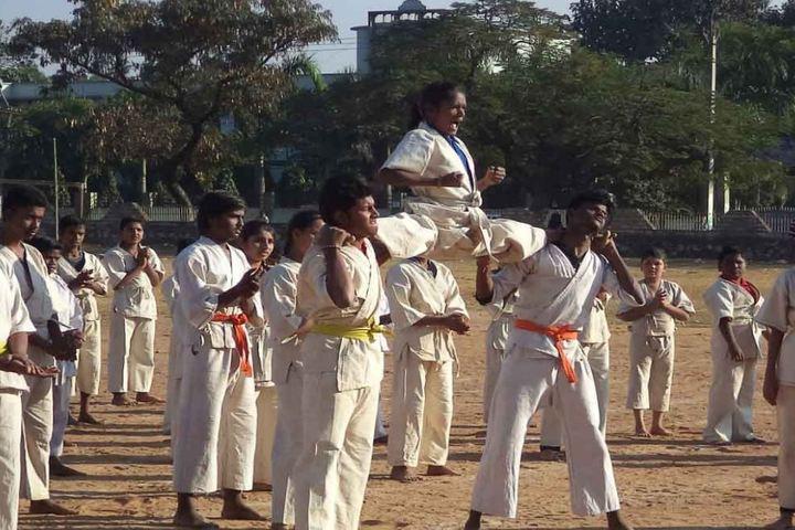 Saraswati Vidya Mandir-Karate