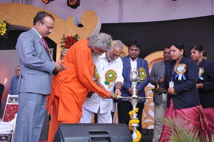 Shrikrishna International School ceremony