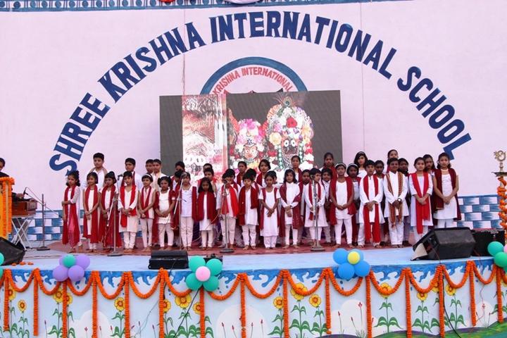 Shrikrishna International School function