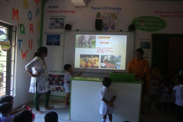 Shrikrishna International School smart class
