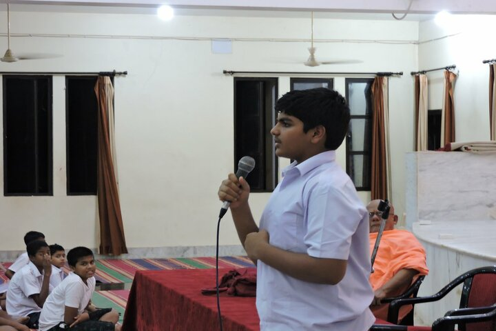 Sivananda Centenary Boys High School-Student Speech