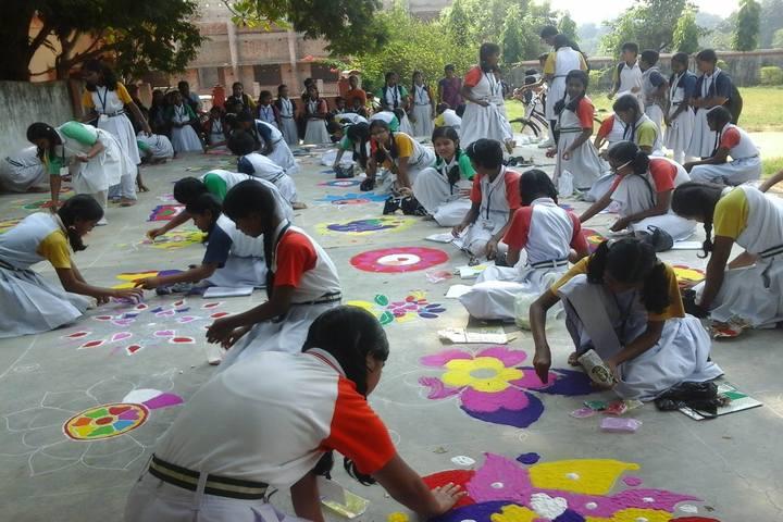 Sri Aurobindo Integral Education and Research Centre-Rangoli Competition