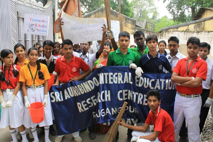 Sri Aurobindo Integral Education And Research Centre-Cleanliness Drive