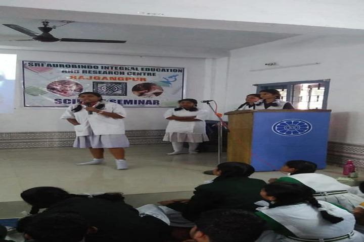 Sri Aurobindo Integral Education And Research Centre-Science Seminar