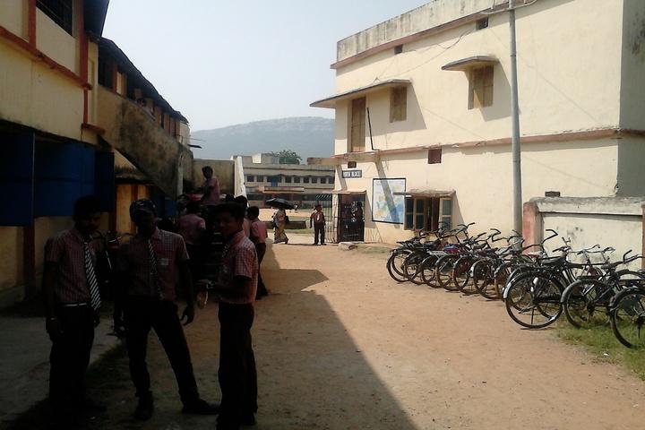 Sri Sathya Sai Kiddies Abode-Cycle Stand