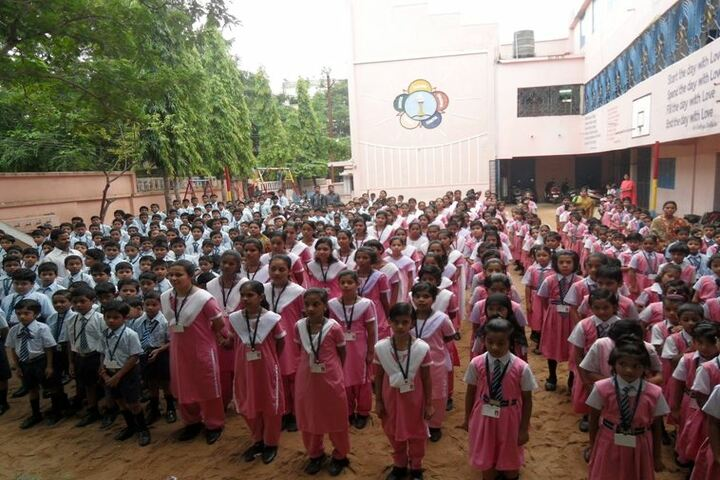 Sri Satya Sai School-Assembly