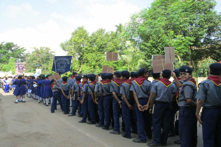 Sri Satya Sai School-Rally