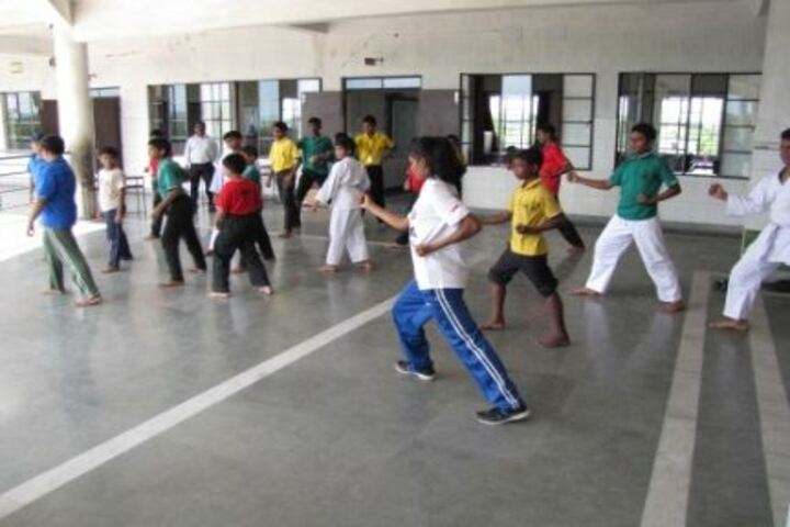 St Arnolds School-Taekwondo