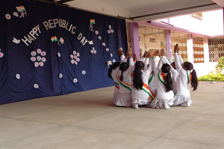 St Arnolds Convent School-Republic Day