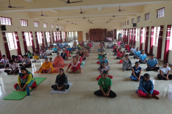 St Arnolds Convent School-Yoga