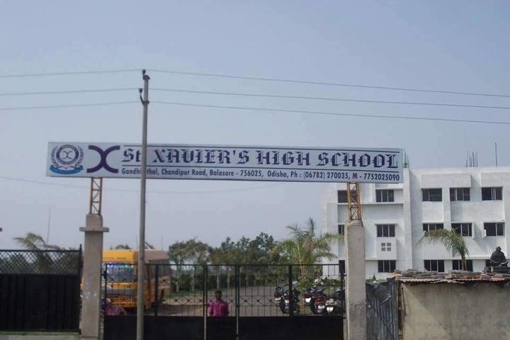 St Xaviers High School-School Entrance
