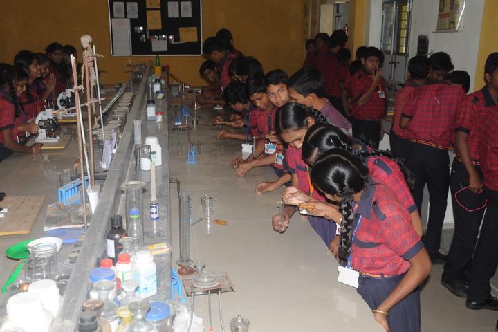 Akshara The School-Chemistry Lab
