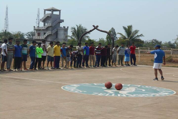 Takshashila Residential School-Basket Ball Court