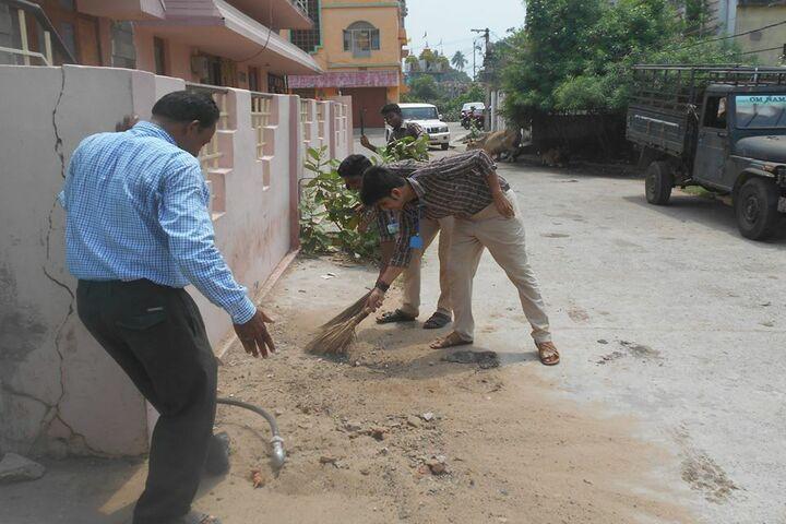 Takshashila Residential School-Swatch Bharat