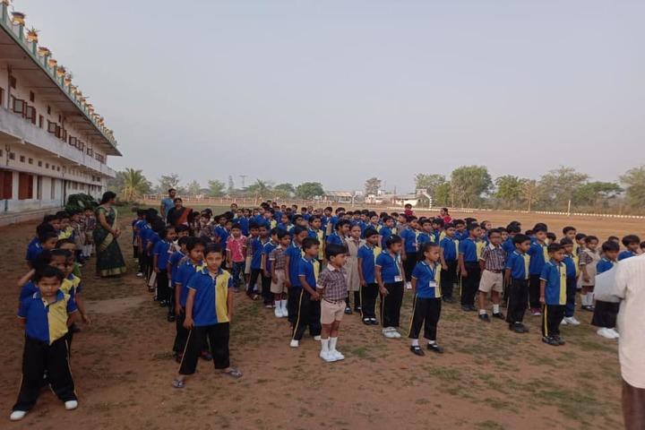 Takshashila Residential School-Assembly