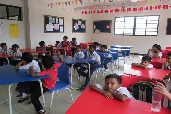 Vedic International School-Classroom