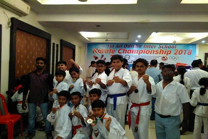 Vedic International School-Taekwondo