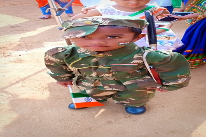 Venkateswar English Medium School-Republic Day