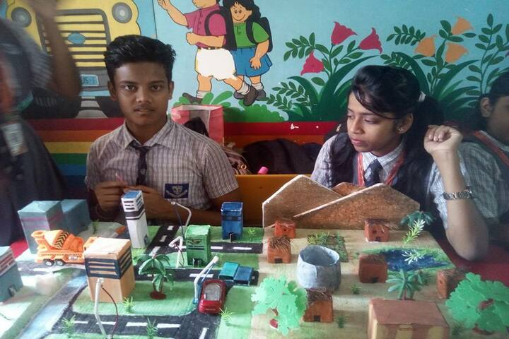 Venkateswar English Medium School-Science Exhibition