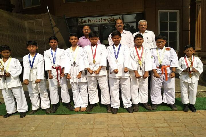 Venkateswar English Medium School-Taekwondo
