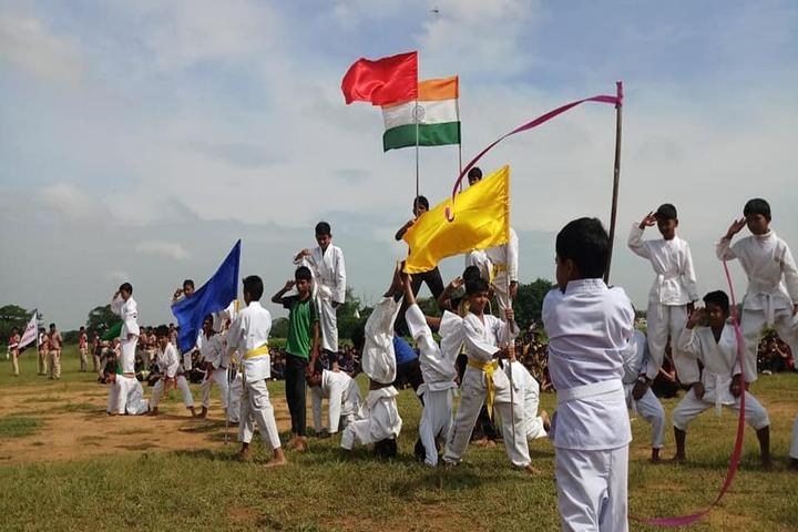 Vidyasagar Academy English Medium School-Human Pyramid