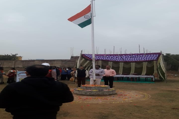 Vidyasagar Academy English Medium School-Flag hosting