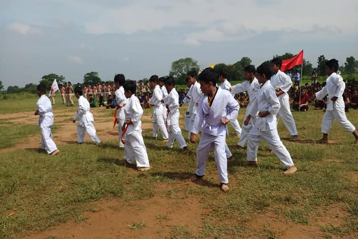 Vidyasagar Academy English Medium School-Taekwondo