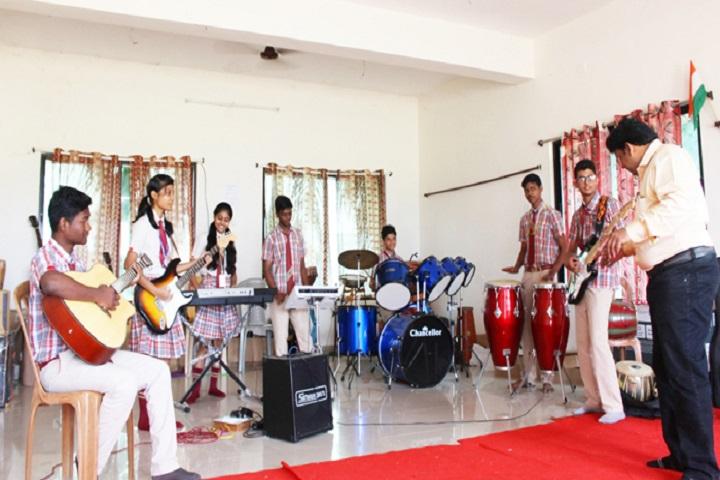 Vikash Residential School-Music Room