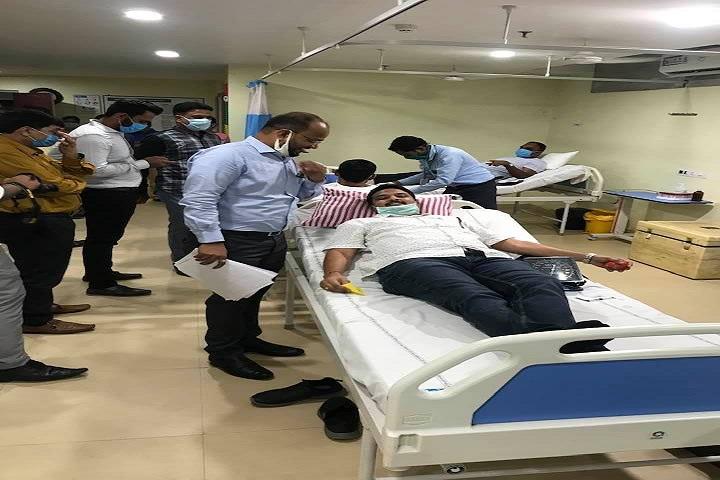 Vikash Residential School-Blood Donation Camp