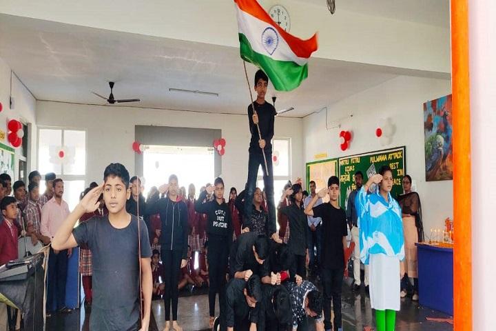 Vikash Residential School-Independence Day Celebration