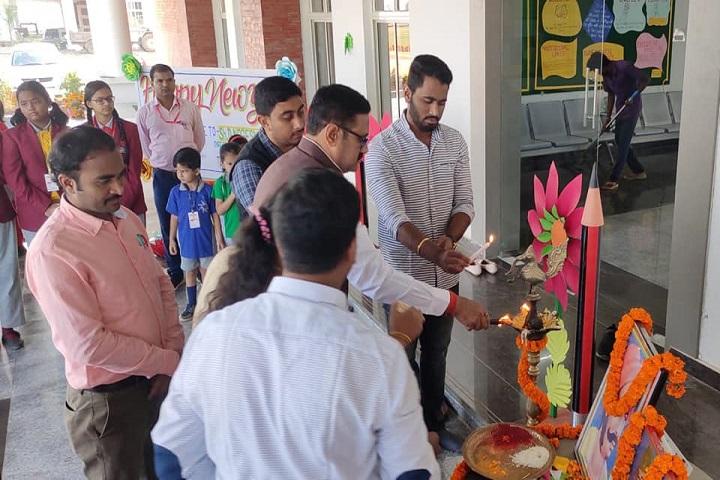 Vikash Residential School-Lighting The Lamp