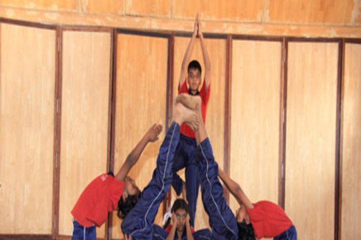 Achariya Bala Siksha Mandir-Yoga Competition