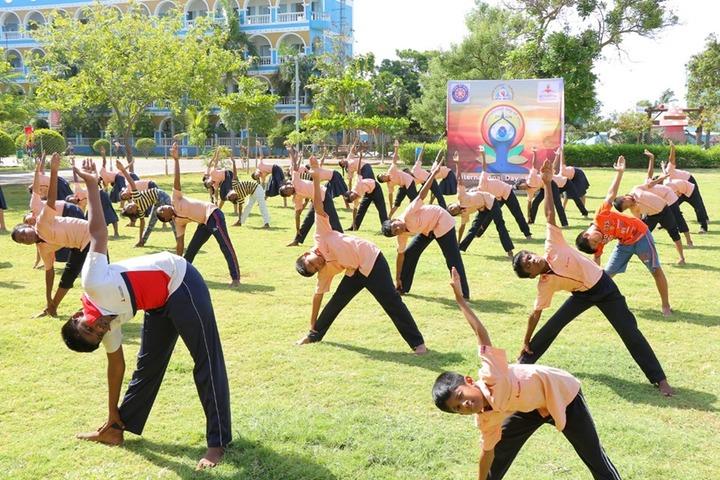 Achariya Siksha Mandir-Yoga Day For Primary Class