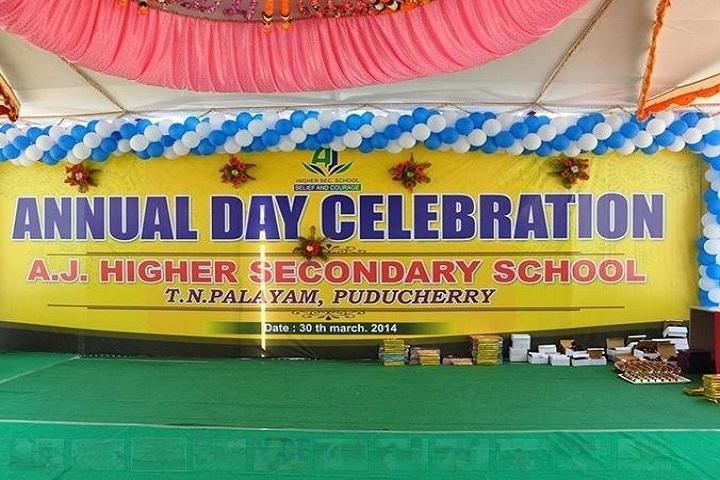 AJ Higher Secondary School-Annual Day Celebrations
