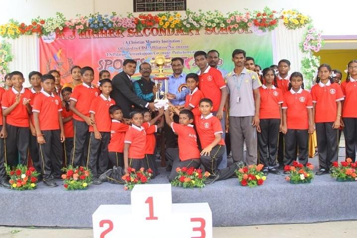 AJ Higher Secondary School-Annual Sports Meet