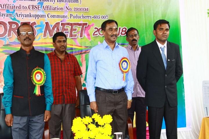 AJ Higher Secondary School - Sports Meet