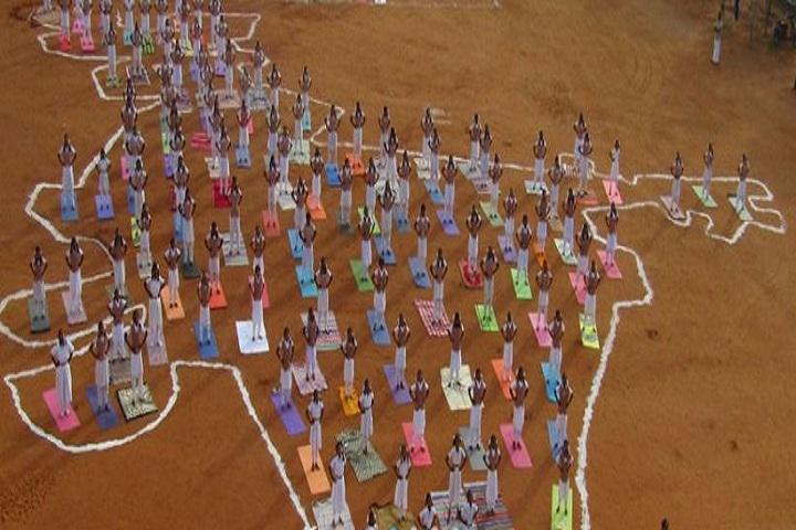 Amrita Vidyalayam-International Yoga Day