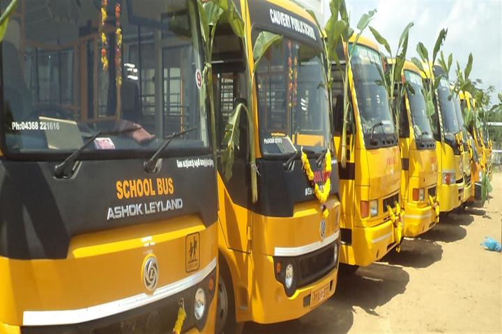 Cauvery Public School-Transport