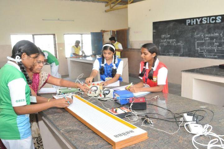 Good Shephered English School-Physics Lab