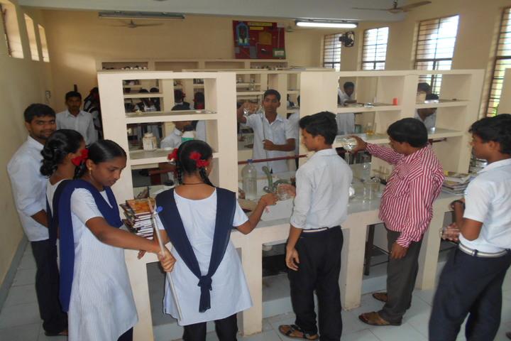 Jawahar Navodaya Vidyalaya Yanam-Chemistry Lab