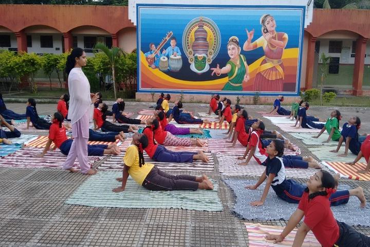 Jawahar Navodaya Vidyalaya Yanam-International Yoga Day