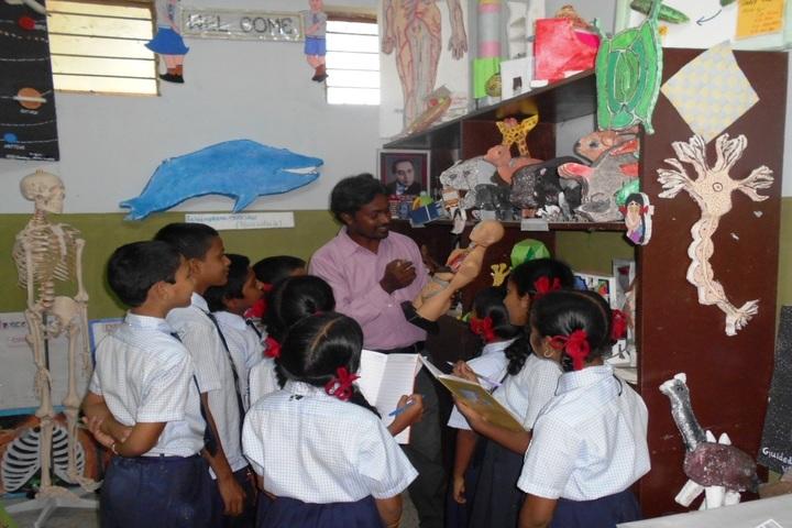 Jawahar Navodaya Vidyalaya Yanam-Junior Science Lab