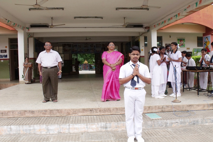 Jawahar Navodaya Vidyalaya Yanam-Morning Assembly