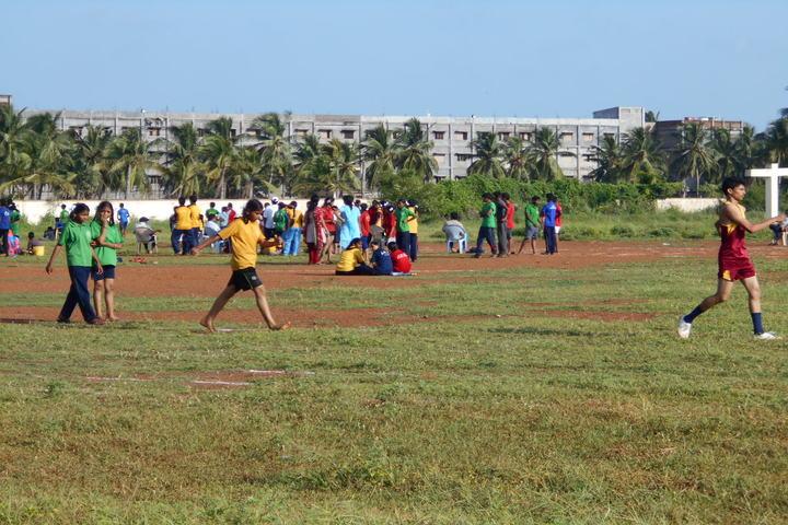 Jawahar Navodaya Vidyalaya Yanam-Play Ground